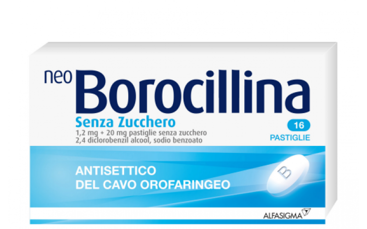 NEO BOROCILLINA 1,2 mg + 20 mg pastiglie