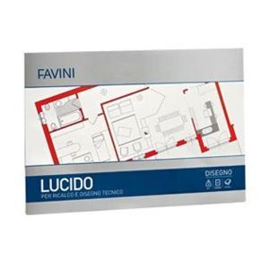 BLOCCO ALBUM DA LUCIDO FAVINI 10 FOGLI A4