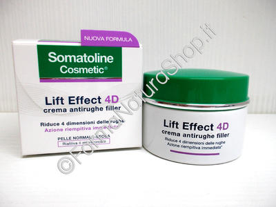 Somatoline Cosmetic LIFT EFFECT 4D Crema Antirughe Filler