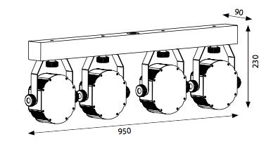 Sagitter LED KIT 3 BAT