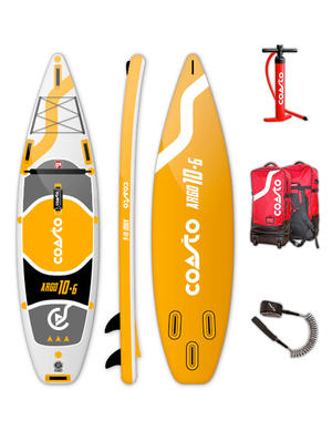 SUP Coasto Argo - Stand Up Paddle completo di accessori -  320 x 81 x15 cm