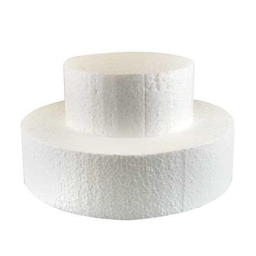 disco polistirolo rotondo alto cm 10, diametro cm 35