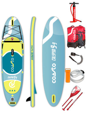 Coasto Calypso - Stand Up Paddle completo di accessori -  297 x 76 x 12 cm