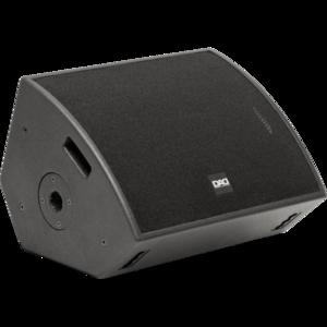 DAD Fusion12MA - Diffusore monitor da palco coassiale, attivo bi-aplificato in classe D+AB a due vie