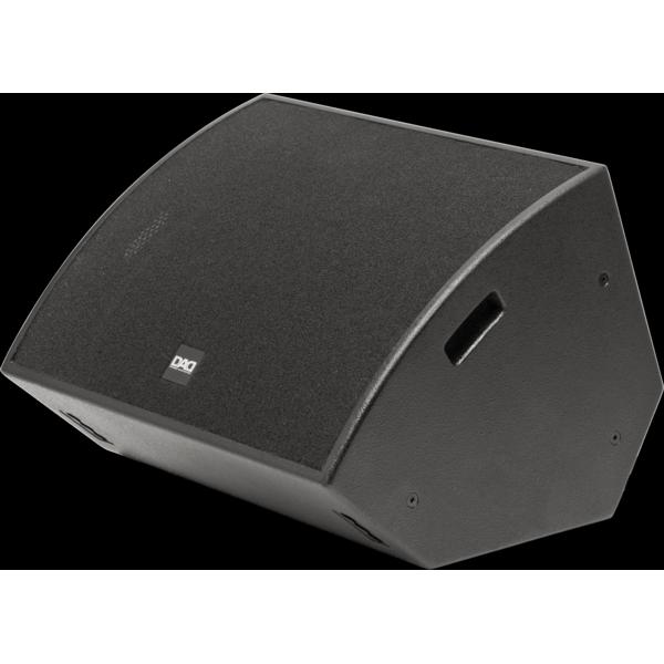 DAD Fusion15MA - Diffusore monitor da palco coassiale, attivo bi-aplificato in classe D+AB a due vie