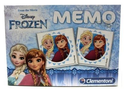 Clementoni 96381 Gioco Memo Disney Frozen Compatto 48 Carte Memoria