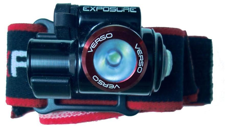 Exposure Lights Verso Mk2 torcia frontale da testa con Batteria Extra - Offerta di Mondo Nautica 24