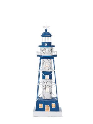 Modello di Faro Luminoso in Acciaio ( alto 49 cm. ) di Artesania Esteban - Mondo Nautica 24