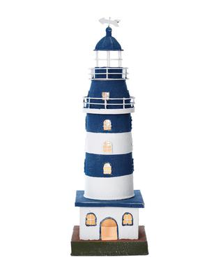 Modello di Faro Luminoso in Acciaio ( alto 44 cm. ) di Artesania Esteban - Mondo Nautica 24