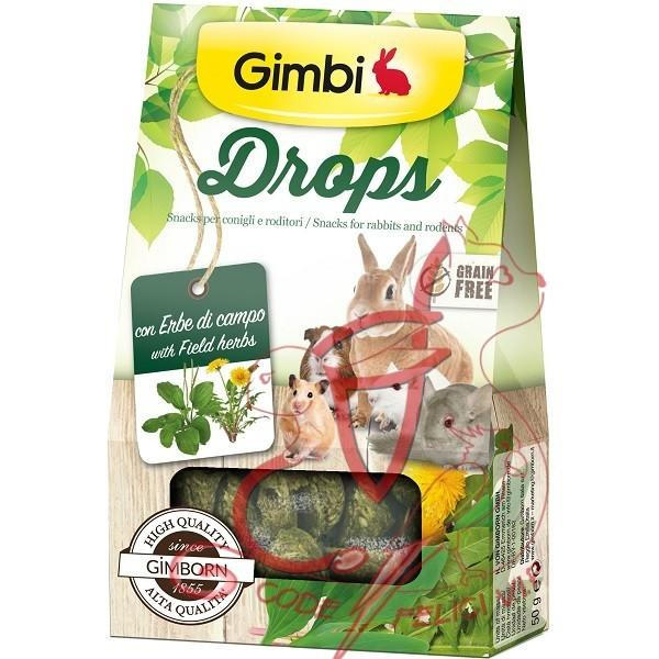 Gimborn Grain Free - Gimbi Drops con Erbe di campo