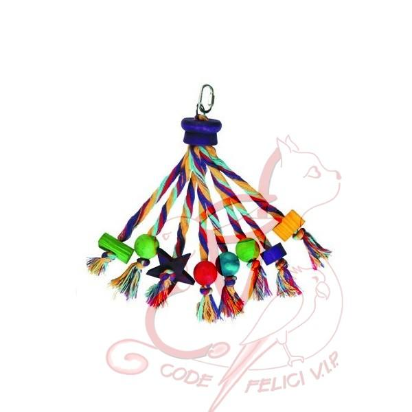 Happy Pet Carnival Bird Toy - SCONTO -30%