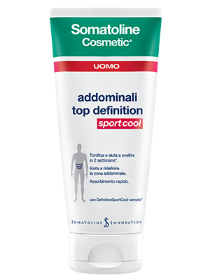 Somatoline Cosmetic Addominali Top Definition Sport Cool UOMO