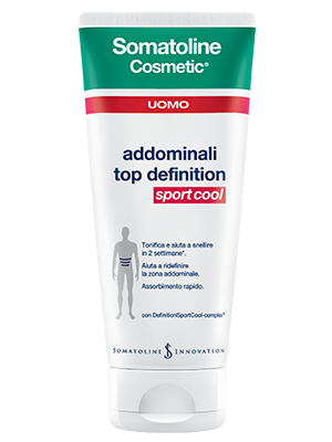 Somatoline Cosmetic Addominali Top Definition Sport Cool UOMO