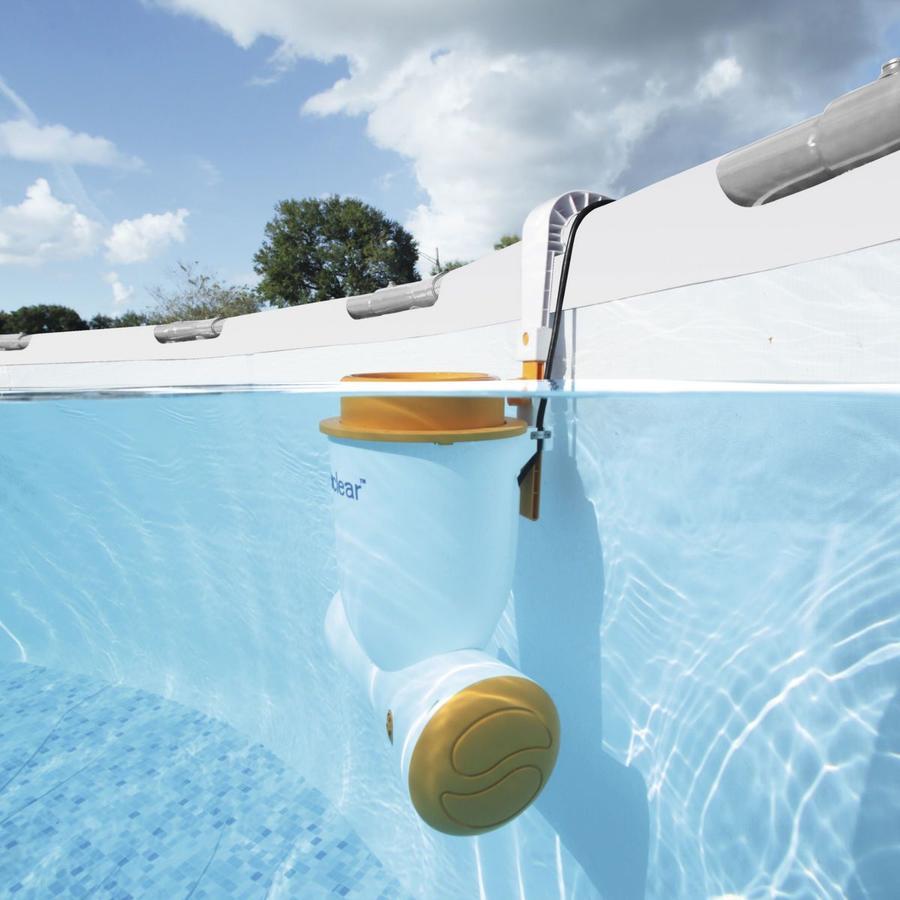 Pompa Filtro Skimmer Skimatic a Cartuccia per Piscina Fuori terra Acqua Bestway 58462 universale