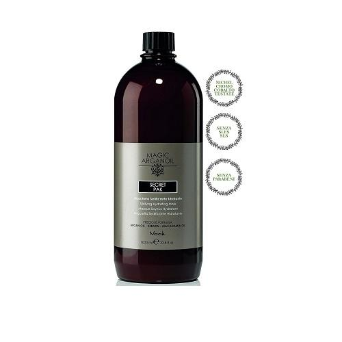 NOOK - MASCHERA ARGAN OIL - SETIFICANTE IDRATANTE - 1000ML