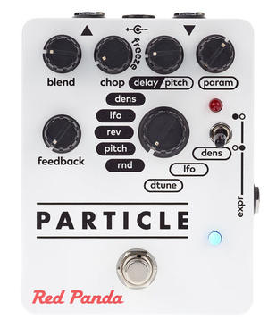 Particle Granular Delay/Pitch Shifting - Red Panda
