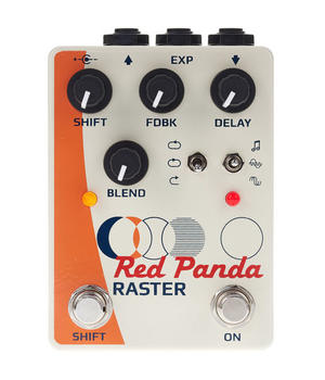 Raster Delay/Pitch Shifter - Red Panda