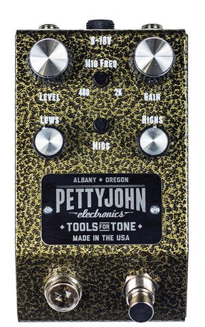 Gold Overdrive - Pettyjohn Electronics