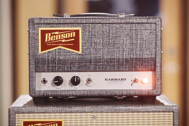 earhart 15 watt guitar amplifier benson amps. Black Bedroom Furniture Sets. Home Design Ideas