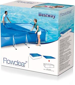 Telo copertura piscina bestway 259 x 170 BESTWAY 58105