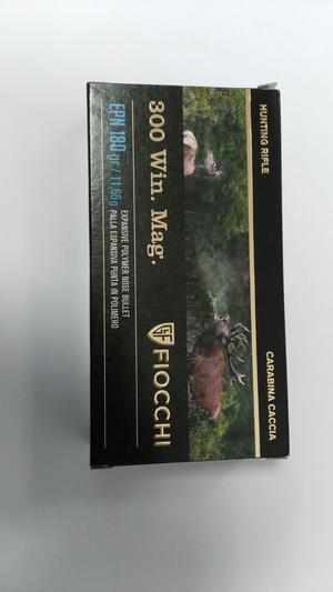 CARTUCCE FIOCCHI CAL. 300 WIN. MAG. HUNTING RIFLE