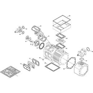 Kit Guarnizioni per Compressore semiermetico a pistoni Bitzer - 8 Pistoni