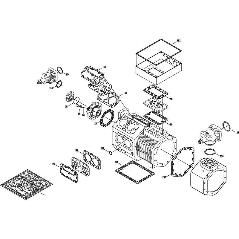 Reciprocating Refrigeration Compressor