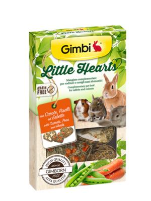 Gimborn Grain Free - Gimbi Little Hearts, Cuoricini con Carote, Piselli, Erbette