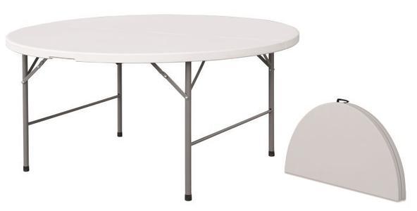Tavolo rotondo pieghevole per catering diam 180 PIEGHEVOLE 180 per catering sagre mercatini buffet riunione