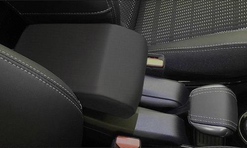 Adjustable DESIGN armrest for Peugeot 2008 (2013-2019) in textile