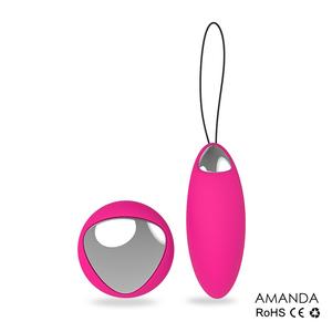 LoveMeDoo AMANDA Uovo Vibrante con telecomando Bluetooth