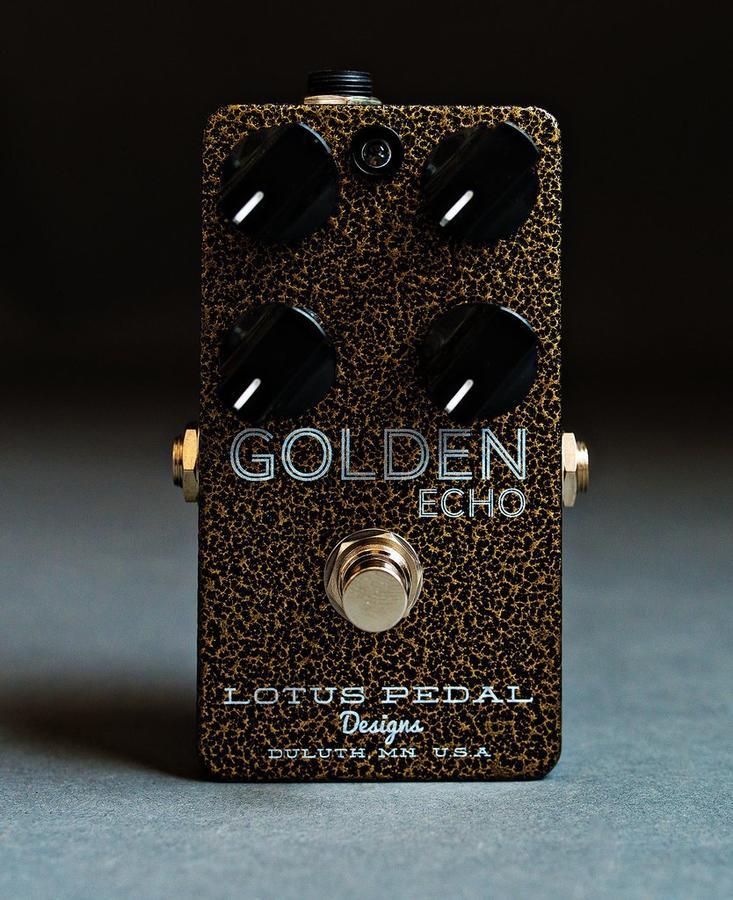 Golden Echo - Lotus Pedal Designs