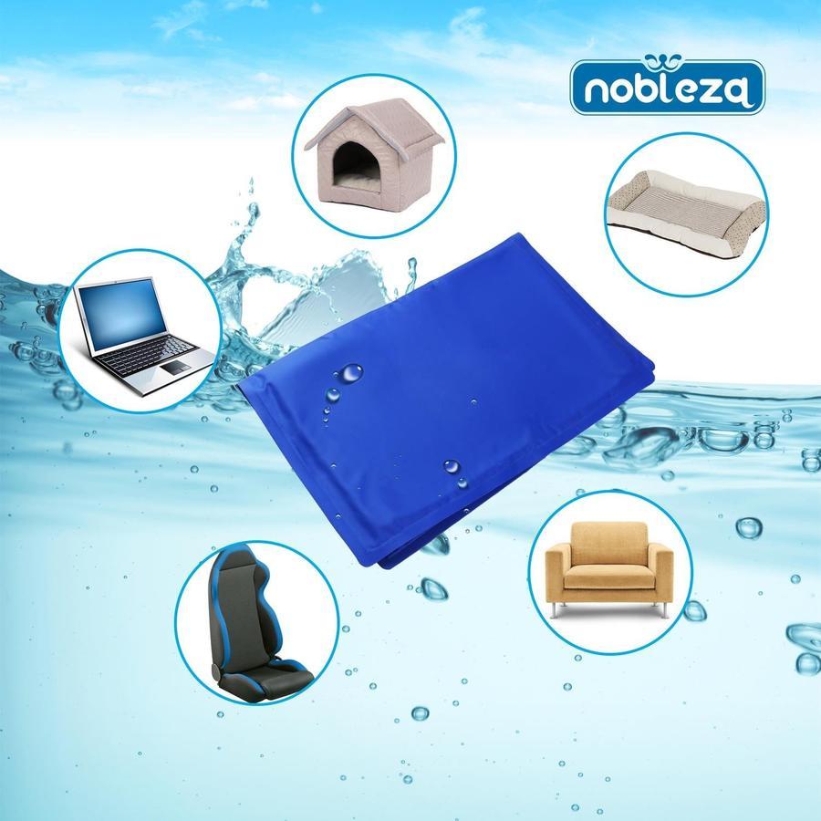 Nobleza Tappetino Blu Refrigerante per Animali - 50x60 cm.