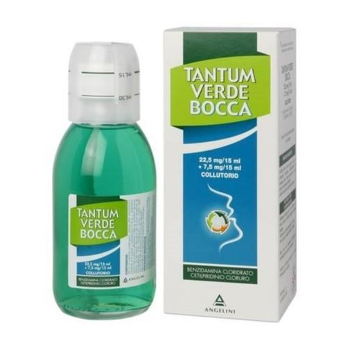 TANTUM VERDE BOCCA  22,5 mg/15 ml + 7,5 mg/15 ml Collutorio