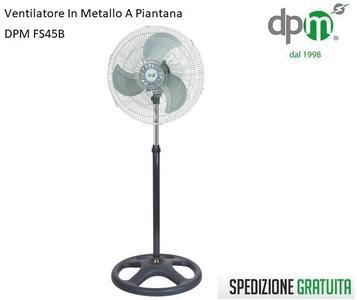 VENTILATORE DPM PIANTANA FS45B PALA 45 70W
