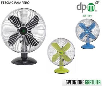 VENTILATORE DPM DA TAVOLO FT30MC PAMPERO PALA 30 35W