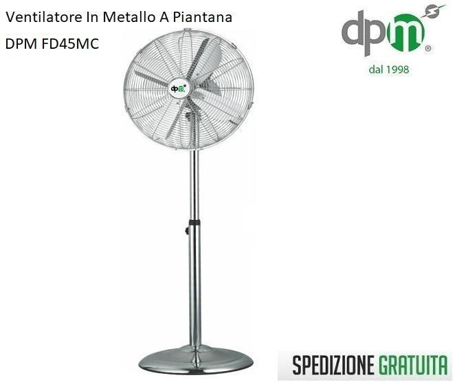 DPM Bora Pala 45 60w ventilatore a piantana FD45MC