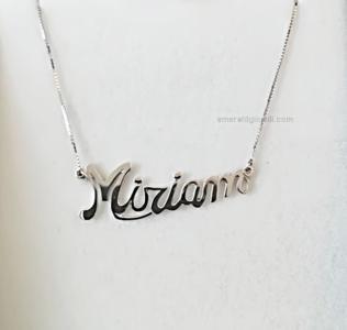 Collana con Nome Miriam