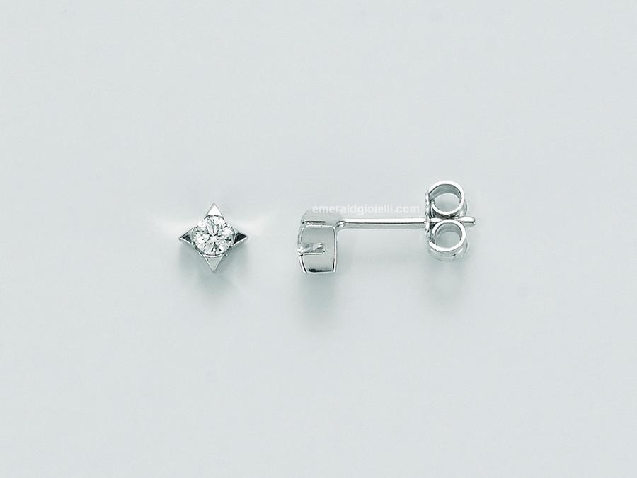 ERD1590 010g7  Orecchini con Diamante Miluna -