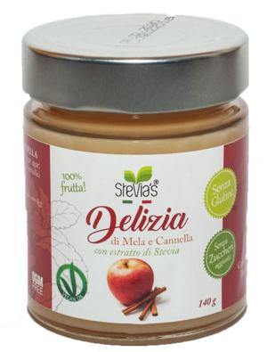 Delizia di Mela e Cannella senza zuccheri aggiunti
