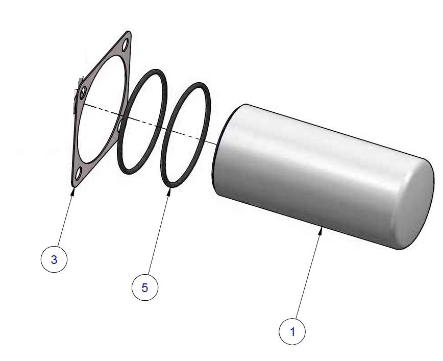 Kit Filtro Olio Refcomp Art. K303669 - SRC-S-305