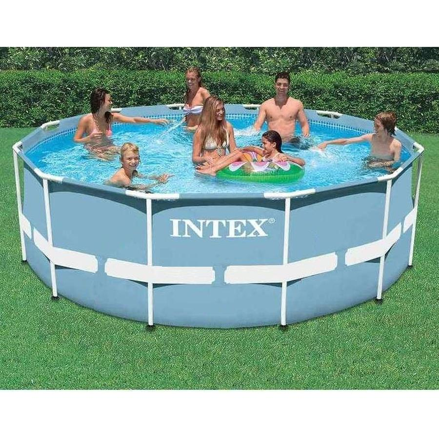 Piscina rotonda INTEX PRISMA 28710 Frame Rotonda 366 x 76 Cm