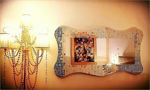 specchio Onde Preziose