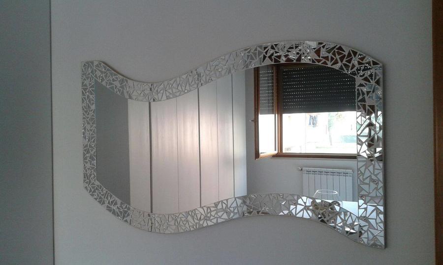 specchio Best a onda da Camera