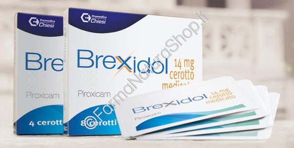 BREXIDOL CEROTTO MEDICATO - 8 cerotti