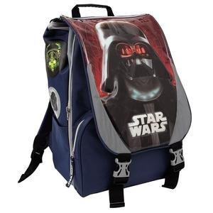 Zaino Estendibile Scuola Star Wars Rogue One Darh Vader + Regalo Maschera Mantello