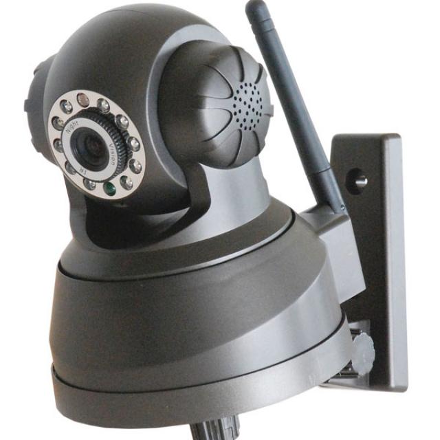 IP camera telecamera wireless wifi + SD 16gb videosorveglianza wi-fi motorizzata