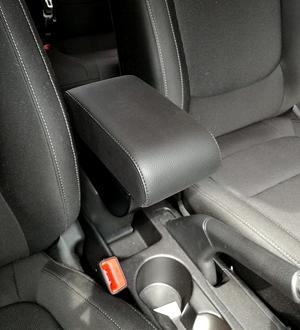 Adjustable armrest with two storages for Kia RIo (2017>)