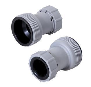 Coppia di adattatori riduttori per tubi da 38 a 32 per filtro piscine UNIVERSALI Bestway Intex