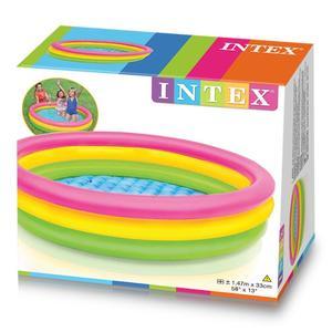 Intex 57422 Piscina Gonfiabile Per Bambini Da Giardino 147 x 33 cm Rotonda